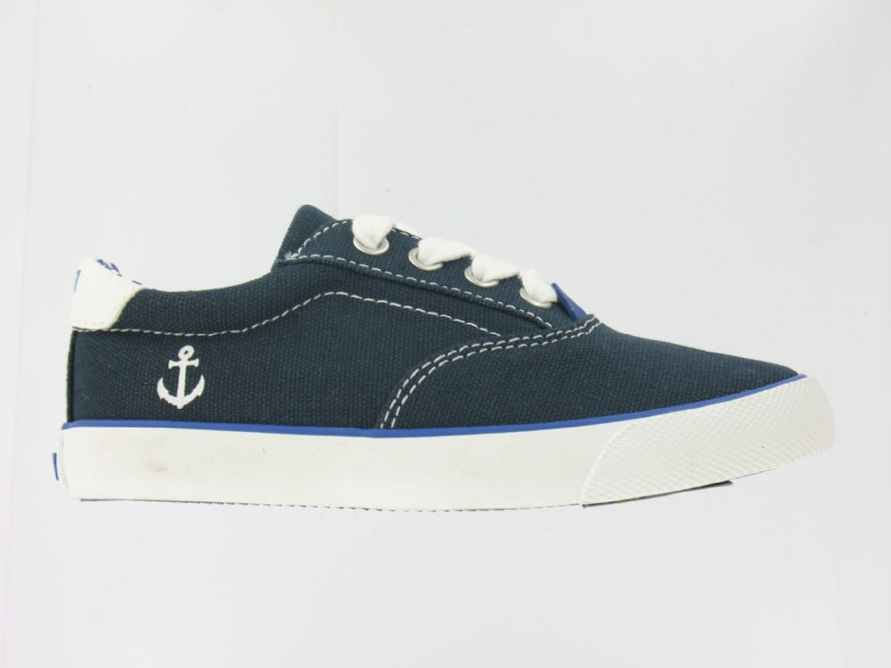 Primigi POY Canvas Lace Up Shoes (Nautical Navy)